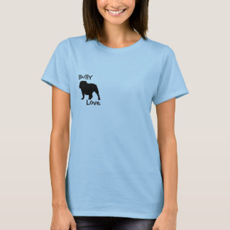 Bully Love English Bulldog T-Shirt