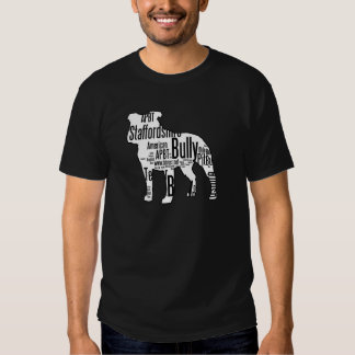 Bully Shape with rescue words T Shirts