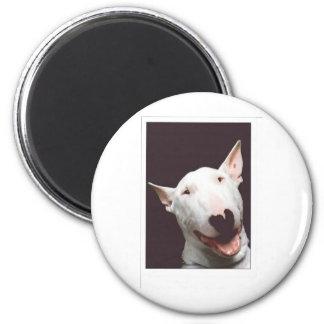 bully smile 6 cm round magnet