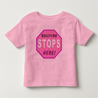 Bully Stops Here Toddler T-Shirt