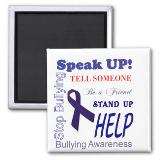 Bullying Awareness Gifts Anti Bullying Square Magnet