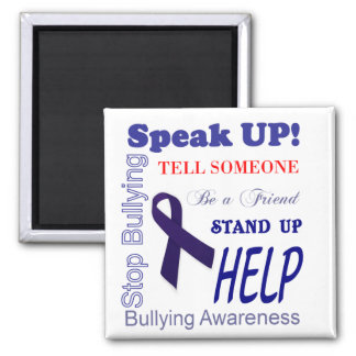 Bullying Awareness Gifts Anti Bullying Square Magnet