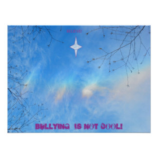 BULLYING IS NOT COOL POSTERS