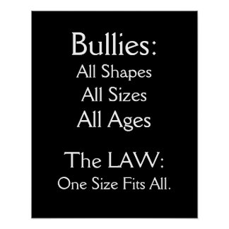 Bullying - SRF Poster