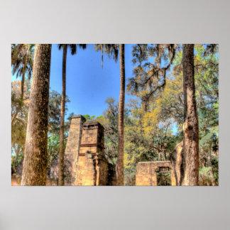 Bulow Plantation, Florida Poster