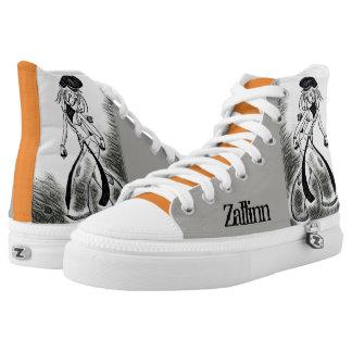 Bum Clown and Butterfly Zallinn High Top Shoes