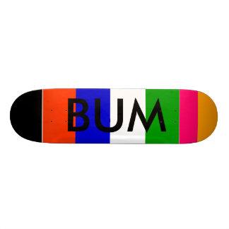 BUM, T, T, T, T, T, T, I, BUM CUSTOM SKATEBOARD
