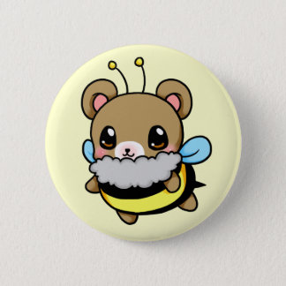 Bumble Bear 6 Cm Round Badge