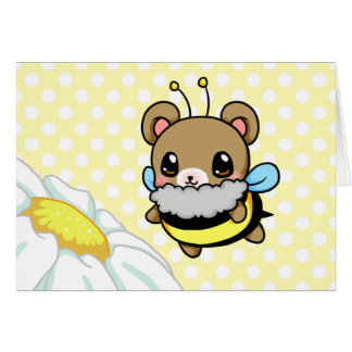 Bumble Bear Card