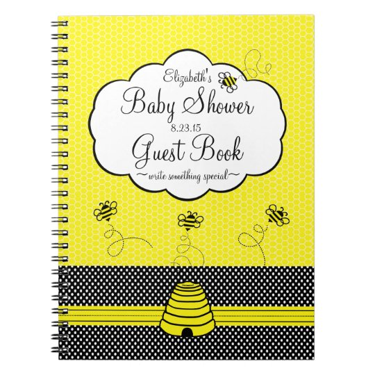 Bumble Bee and Bee Hive Baby Shower Guest