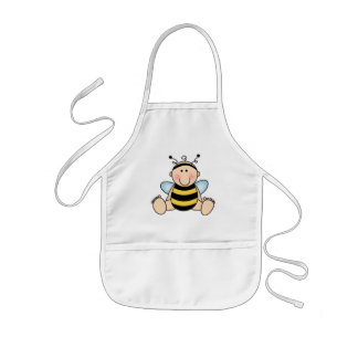 Bumble Bee Baby Kids Apron