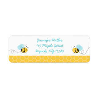 Bumble Bee Baby Shower Address