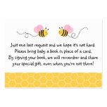 Bumble Bee Baby Shower Book Request Cards Business Card Templates