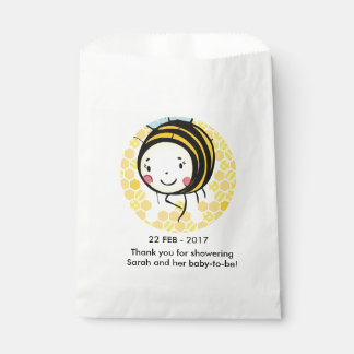 bumble bee Baby Shower Favor Bags Favour Bags