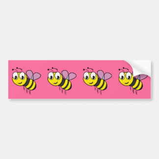 Bumble Bee, Buzz Bumper Sticker