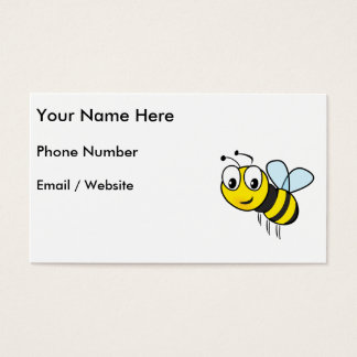 Bumble Bee, Buzz Business Card