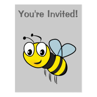 Bumble Bee, Buzz Post Cards