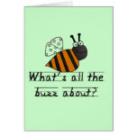 Bumble Bee Buzz Tshirts and Gifts Cards