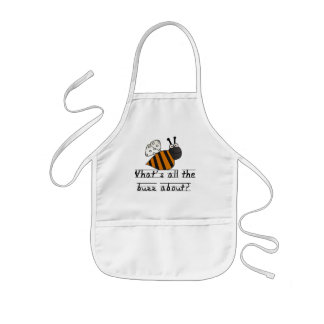 Bumble Bee Buzz Tshirts and Gifts Kids Apron