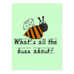 Bumble Bee Buzz Tshirts and Gifts Postcard