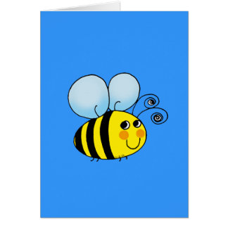 Bumble bee card