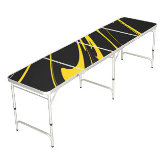 Bumble Bee Colors Pong Table