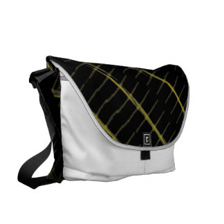 Bumble bee courier bag