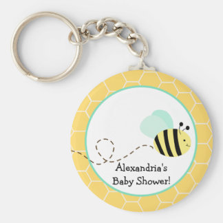 Bumble Bee Custom Keychain