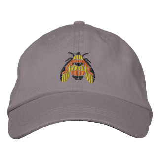 Bumble Bee Embroidered Hat