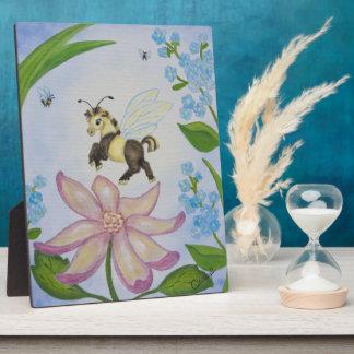 Bumble Bee Fantasy Horse Plaque