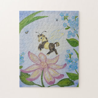 Bumble Bee Fantasy Horse Puzzle