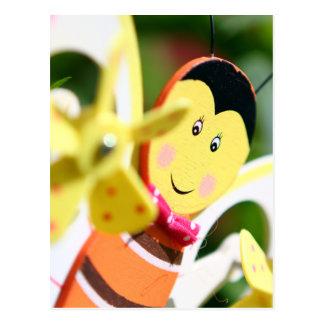 Bumble Bee Fun Postcard