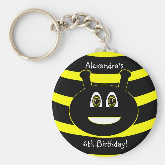 Bumble Bee Keychain Party Favours Souvenirs