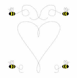 Bumble Bee Love Ornament Photo Sculptures