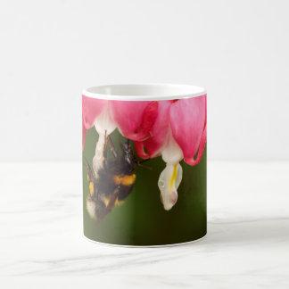 Bumble Bee on Bleeding Hearts Coffee Mug