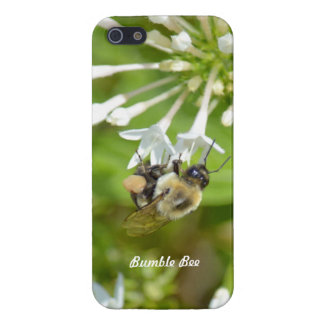 Bumble Bee on flowers iPhone 5 Case