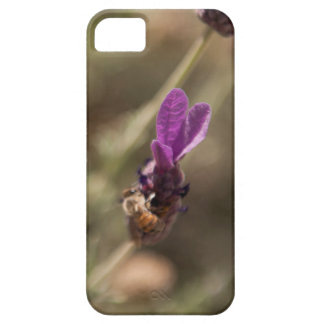 Bumble Bee on Purple Lavender Flower Floral Case