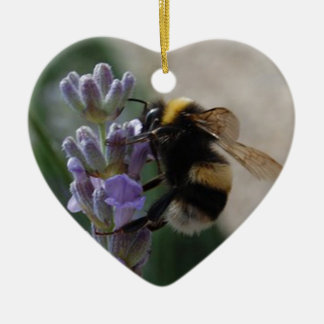 Bumble Bee On Valender Christmas Ornament