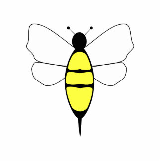 Bumble Bee Ornament Cut Out