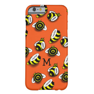 BUMBLE BEE PATTERN by Slipperywindow Barely There iPhone 6 Case