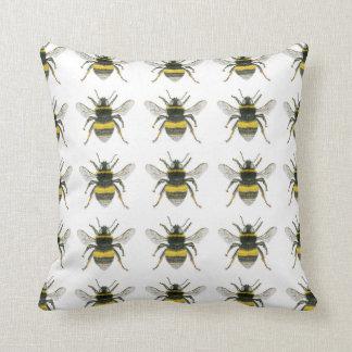 Bumble Bee Pattern Throw Cushion Pillows
