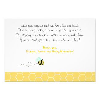 Bumble Bee RSVP Enclosure Cards