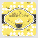 Bumble Bee Sticker SQBIZ