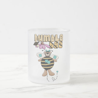 Bumble Bee Tshirts and Gifts Frosted Glass Mug