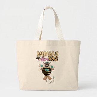 Bumble Bee Tshirts and Gifts Jumbo Tote Bag