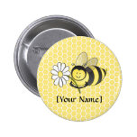 Bumble Bee with Daisy Buttons