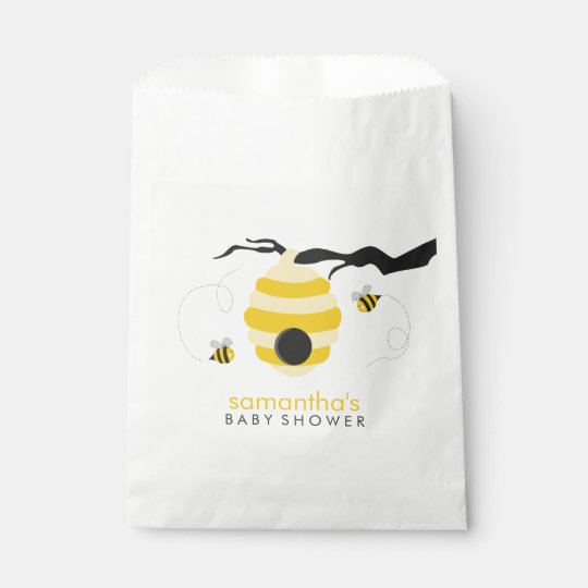 Bumble Bees Baby Shower Favour Bags
