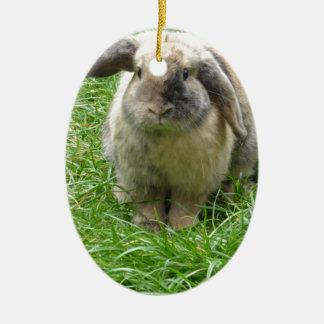 Bumble Rabbit Christmas Ornament
