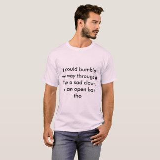 bumble sad clown T-Shirt