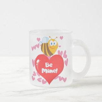 Bumblebee Be Mine Valentine Coffee Mug